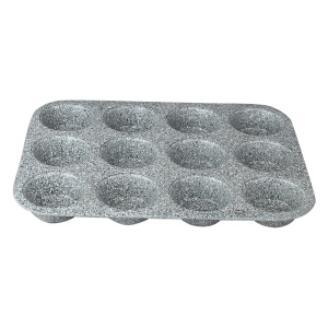 12 Muffin Pan Marble coating Baking Mould  BERLINGER HAUS  BH-1398