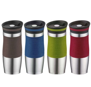 Thermal Mug QUICK STOPPER 400ml PETERHOF [PH-12414]