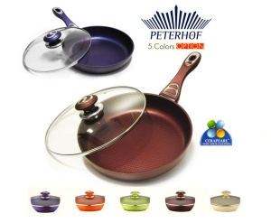 Frying Pan PETERHOF Aluminium Ceramic 24cm [PH-15396-24]