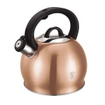 Stainless Steek Whistling Kettle 3.0L BERLINGER HAUS ROSEGOLD COLLECTION BH-1075