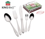 72 pcs Stainless Steel Cutlery Set Silver Satin 12 person KINGHOFF KH-3556