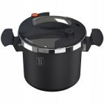 6.0L Pressure Cooker with Marble Coating BERLINGER HAUS Granit Diamond Line BH-1438