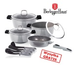 GARNKI BERLINGER HAUS GRANIT DIAMOND GRAY 11 ELE [BH-1121]