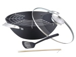 Cast Iron Wok 30cm + AKCESORIA PETERHOF [PH-25342-30]
