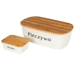 Bread box + butler set with cutting board ORION 152429