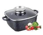 Roaster / Oven-pan / Pot with Granite coating 4.5L 24cm EDENBERG [EB-1846]