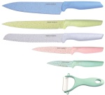 6 pcs Marble coated Knife Set SWISS ZURICH SZ-7345