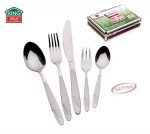 72 pcs Stainless Steel Cutlery Set Silver Satin 12 person KINGHOFF KH-3555