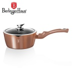 RONDEL 1.3L 16CM BERLINGER HAUS METALLIC LINE ROSE GOLD [BH-1524-N]