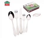 72 pcs Stainless Steel Cutlery Set Silver Satin 12 person KINGHOFF KH-3551