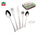 72 pcs Stainless Steel Cutlery Set Silver Satin 12 person KINGHOFF KH-3565