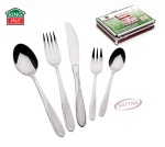 72 pcs Stainless Steel Cutlery Set Silver Satin 12 person KINGHOFF KH-3554