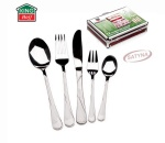 72 pcs Stainless Steel Cutlery Set Silver Satin 12 person KINGHOFF KH-3553