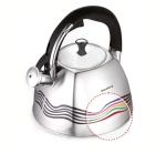 Stainless Steel Whistling Kettle THERMO INDICATOR 3.0L KLAUSBERG [KB-7099]