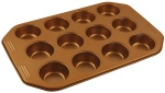 FORMA DO PIECZENIA MUFFINY x12 NON-STICK KLAUSBERG COPPER | KB-7374