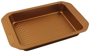 Steel Baking Tray w/non-stick coating 35cm KLAUSBERG Copper | KB-7376