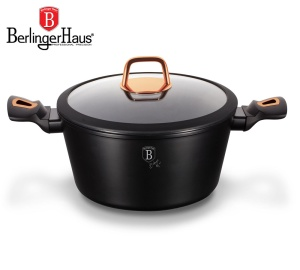 Pot 2.5L 20cm BERLINGER HAUS BLACK ROSE [BH-1641-N]