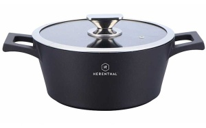 Pot with Granite coating 24cm HERENTHAL HT-HMR24