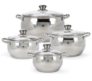 8 pcs Stainless Steel Cookware Set  EDENBERG EB-1115