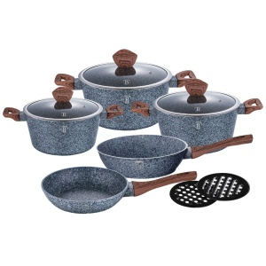 10 piece Granite Cookware Set BERLINGER HAUS FOREST LINE [BH-1211]