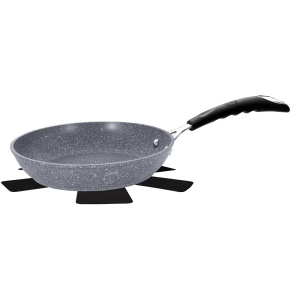 Frying Pan BERLINGER HAUS 24cm GRAY STONE TOUCH [BH-1146]