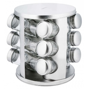 13 pcs. Spice set Rotary Set of spice containers KINGHOF KH-4010
