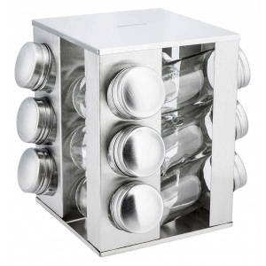 13 pcs. Spice set Rotary Set of spice containers KINGHOF KH-4008