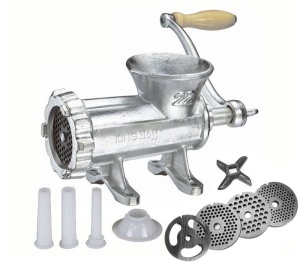 Manual Cast Iron Meat Mincer #22 KINGHOFF KH-1429