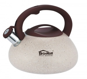 Stainless Steel Whistling Kettle 3.0L MARMUR BRUNHOFF[ BH-4062]
