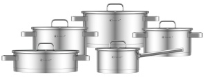 Cookware Set KASSEL LUCIA 10 pcs 18/10 [no.93019]