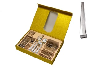 24 pcs Cutlery Set HOFFBURG Emotion [Mirror] HB-2411