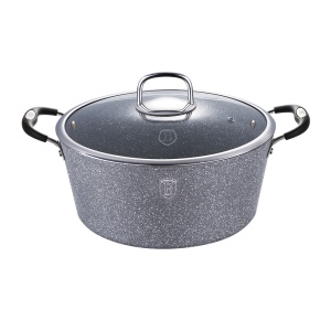 Pot BERLINGER HAUS 2.7L 20cm GRAY STONE TOUCH [BH-1151]