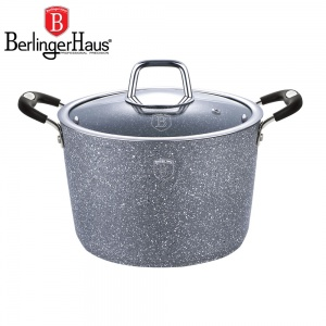 Pot BERLINGER HAUS 6.5L 24cm GRAY STONE TOUCH N [BH-1162-N]