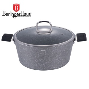 Pot BERLINGER HAUS 6.3L 28cm GRAY STONE TOUCH [BH-1153]