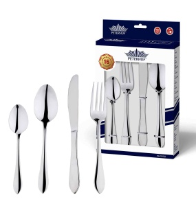 16 pcs Cutlery Set Glossy PETERHOF PH-22121