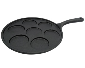 Cast Iron 7-Cup Cake Pan Pancake Maker 23cm KINGHOFF KH-1263