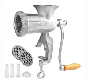 Cast Iron Meat Mincer #8 EDEL HOFF [EH-7202]