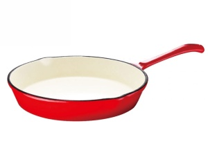 Cast Iron Frying Pan Enamel coated KINGHOFF 25cm [KH-2262]