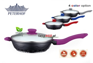Frying Pan Aluminium Ceramic PETERHOF 24cm [15394-24]