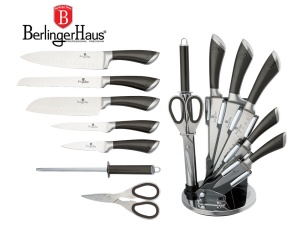 Knive Set 8 pcs BERLINGER HAUS INFINITY CARBON [BH-2110]