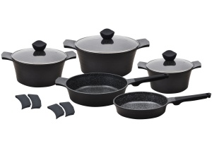12 pcs Cookware Set with non-stick Granite coating KLAUSBERG FRESCO KB-7355