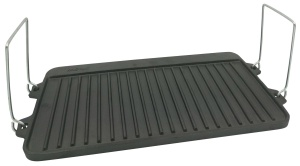 Cast Iron Reversible Grill/griddle 44cm KINGHOFF KH-1262