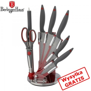 Knive Set 8 pcs  BERLINGER HAUS GRAY STONE TOUCH [BH-2003]