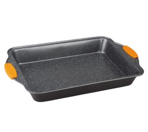 Marble coated 40cm Baking Mould with silicone handle Berlinger Haus Granit Diamond Line BH-1139
