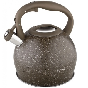 Stainless Steel Whistling Kettle 3.0L KLAUSBERG MARMO KB-7268